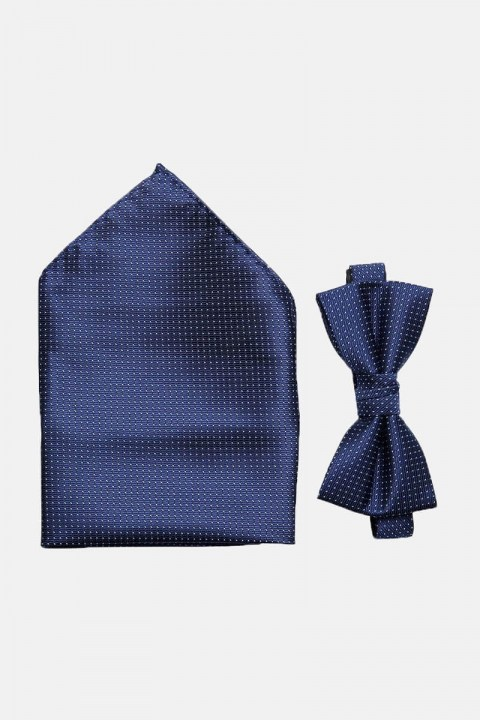 Selected ShdWilly Basic Butterfly/Lommetørkle Box Navy Blazer Comb 4