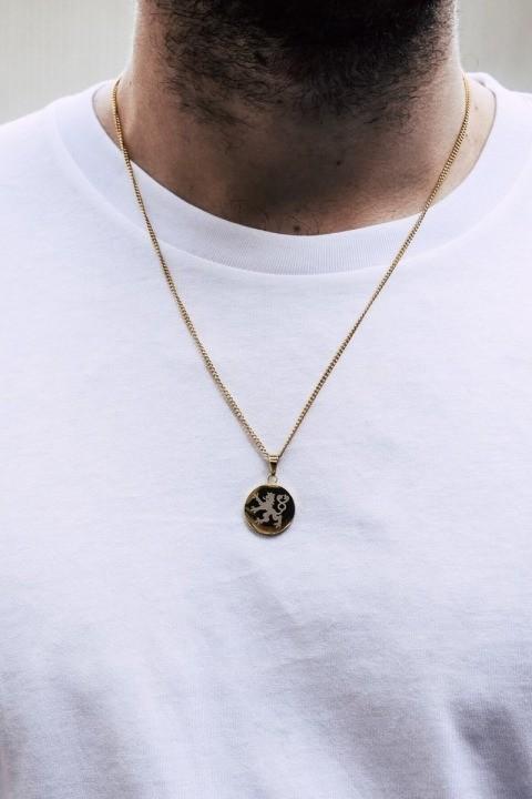 Northern Legacy Lionheart Pendant Halskjede Gold
