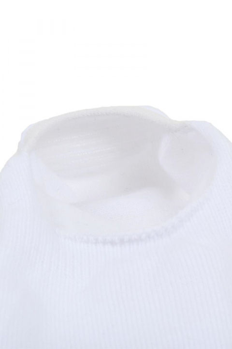 Claudio Invisible Socks White 3PACK