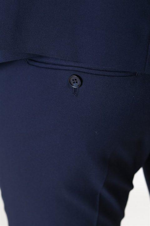 Selected New One Mylo Logan Bukser Navy