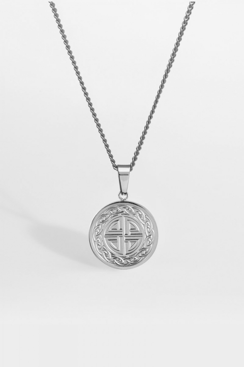 """Northern Legacy Knot Halskjede """"Silver"""""""