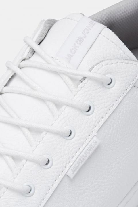 Jack & Jones Trent PU Sneakers Bright White