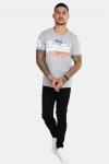Superdry Vintage Logo Tri T-skjorte Montana Grey Grit