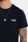 Superdry Orange Label Vintage Emb S/S T-skjorte Eclipse Navy