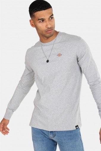 Dickes Round Rock L/S T-Shirt Grey Melange