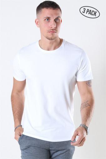New Pima T-shirt 3-Pack Bright White