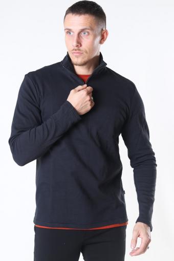 Tailored & Originals Theo LS Strikke Black