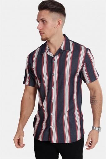 Cuba S/S Gr. 104 Skjorte Indigo