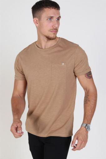 Clean Cut Kolding T-skjorte Warm Sand