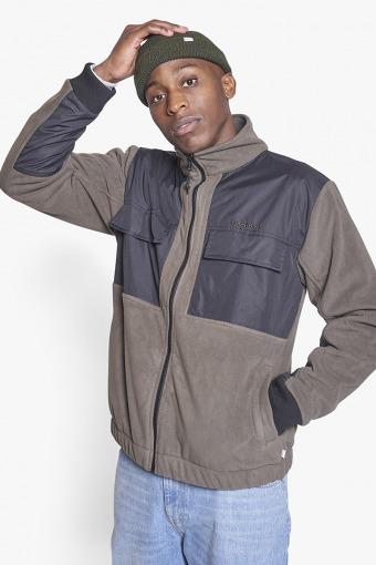 Strukt Zip Fleece Army Green