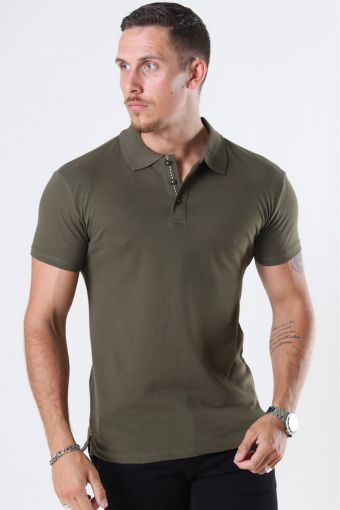 Muscle Fit Polo New Army