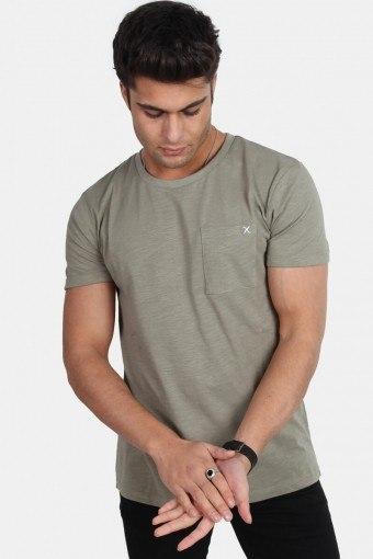 Clean Cut Kolding T-skjorte S/S Dusty Green