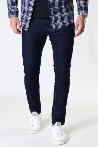 David Slim Stretch Jeans 2003 Raw Dark Denim