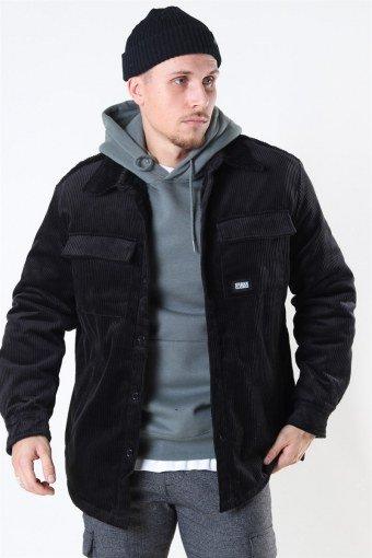 Klokkeban Classics Corduroy Skjorte Jakke Black