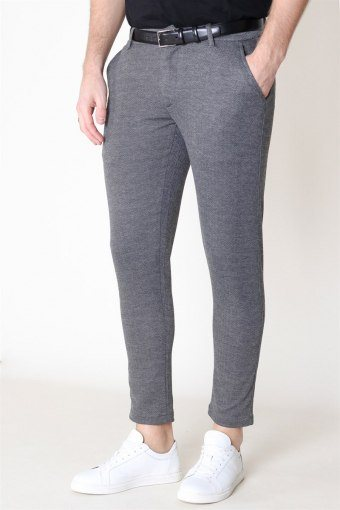 Dave Barro Pants Medium Grey Melange