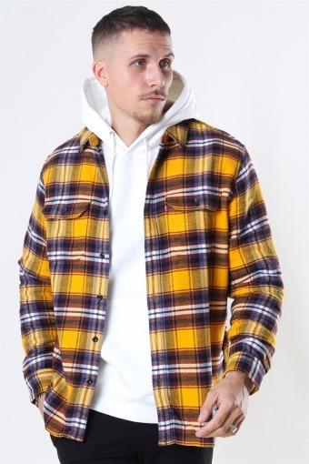 Jackson Worker Skjorte Golden Yellow