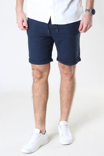 SDTruc Shorts Linen Insignia Blue