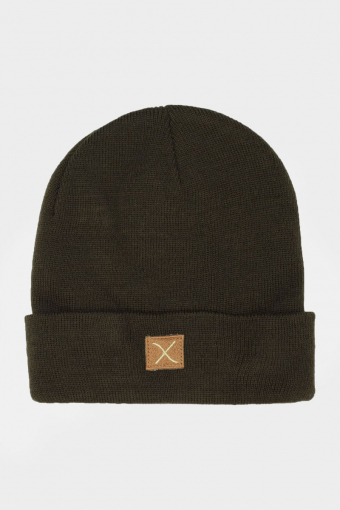 Clean Cut Logo Beanie Hatt Army