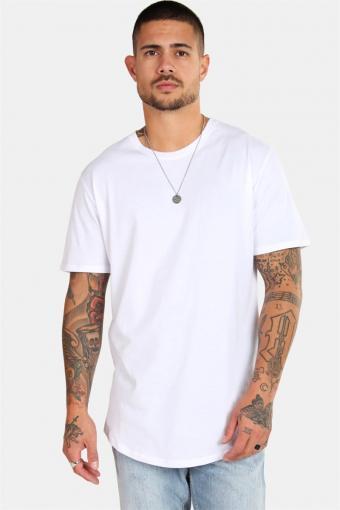 Matt Longy SS T-skjorte White