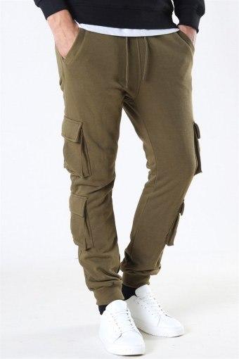 Klokkeban Classics Double Pocket Terry Sweat Pants Summerolive