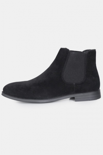 Chelsea Boots Semsket Black