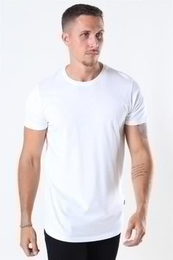 Dew SS Long T-shirt White
