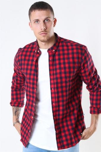 Johan Check Gr. 18 Skjorte Red