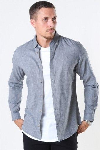 Blalogo Autumn Skjorte L/S Grey Melange