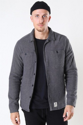 Harris Shirt LS Black/Grey