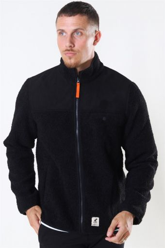 Gary Fleece Jacket Black