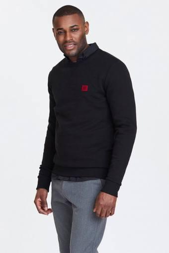 Black/Red Piece Sweatshirt