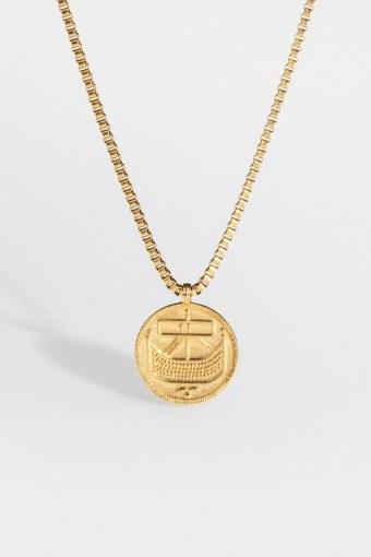 "Saxon-Penny Halskjede ""Gold"""