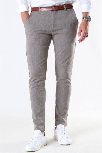 Tailored & Originals Frederic Pants Dune Mel.