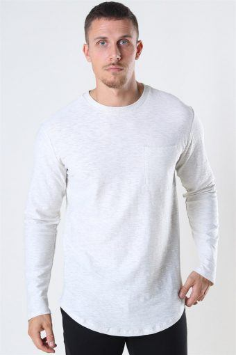 Elgin Life Longy LS T-shirt Oatmeal