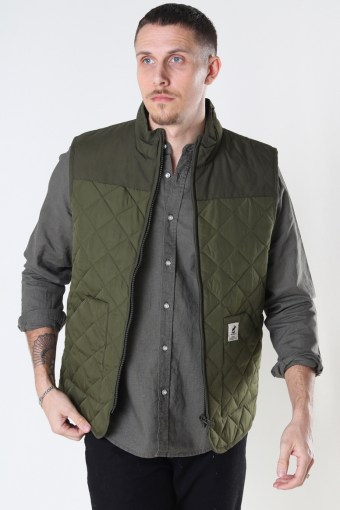 Jensen Recycled Vest Army