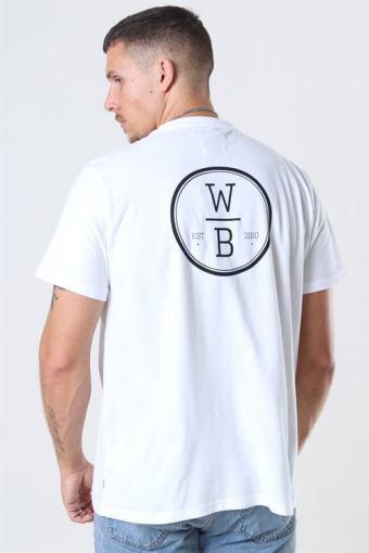 OKlokke Aks Wirble T-shirt White
