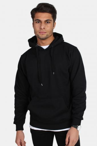 Hooded Genser Black