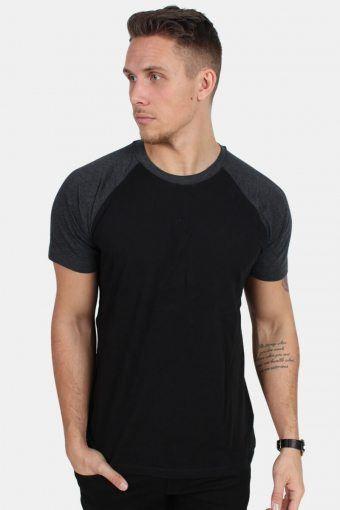 Klokkeban Classics TB639 T-shirt Black/Charcoal