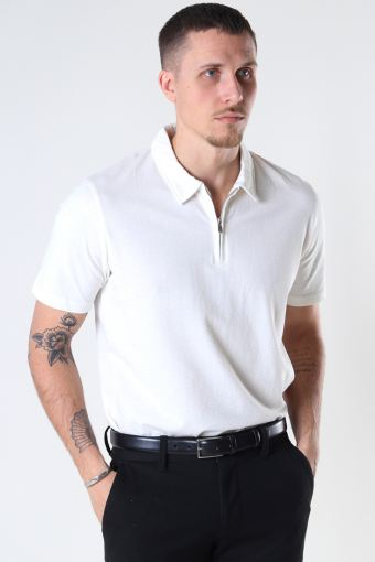 JPRBLAASHER SS POLO Egret REG FIT