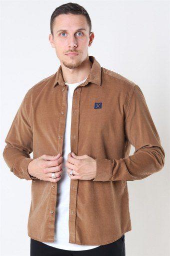 Clean Cut CordKlokkeoy Shirt LS Khaki