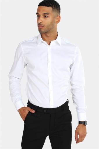 Non Iron Skjorte L/S White
