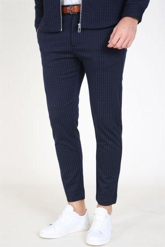 Milano Pinstripes Pants Navy
