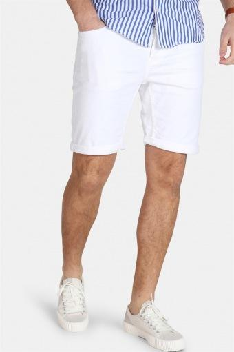 PLY Col PK 2439 Shorts White