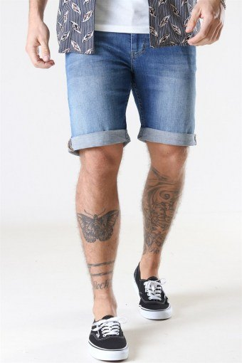 Mike Shorts Deepless Blue