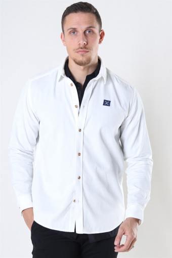 Clean Cut CordKlokkeoy Shirt LS Ecru
