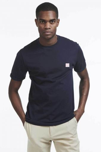 Piece T-skjorte Dark Navy Rose