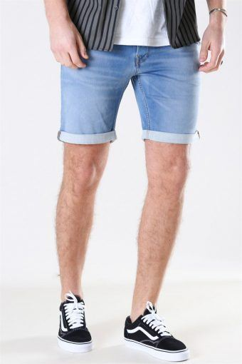 Rick Icon 003 Shorts Blue Denim