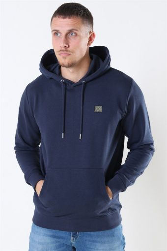 Clean Cut Basic Organic Hoodie Navy