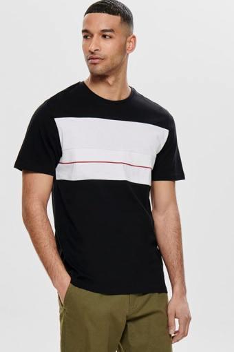 Lemar SS T-skjorte Black