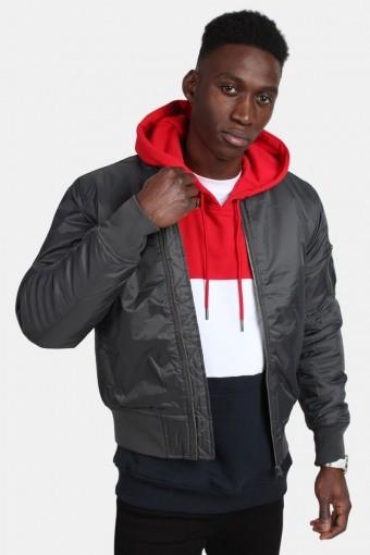 Bomber jakke Cool Grey